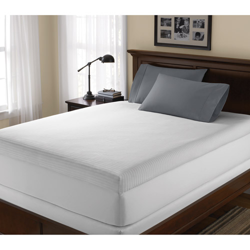 Discount One Shredded Pillow With This Soft Sleeper 5.5 Twin XL 3 Inch Memory Foam Mattress Pad Bed Topper Overlay